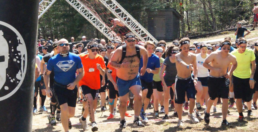 Activités Spartan Race 2015-3 - Groupe de coureurs