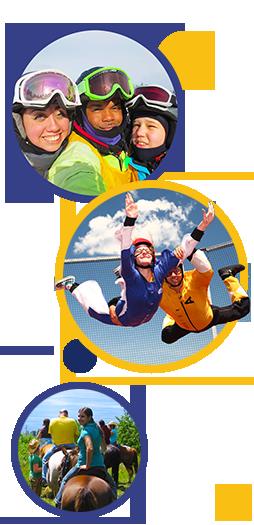 Visuel illustrant les loisirs jeunesse comme école de vie