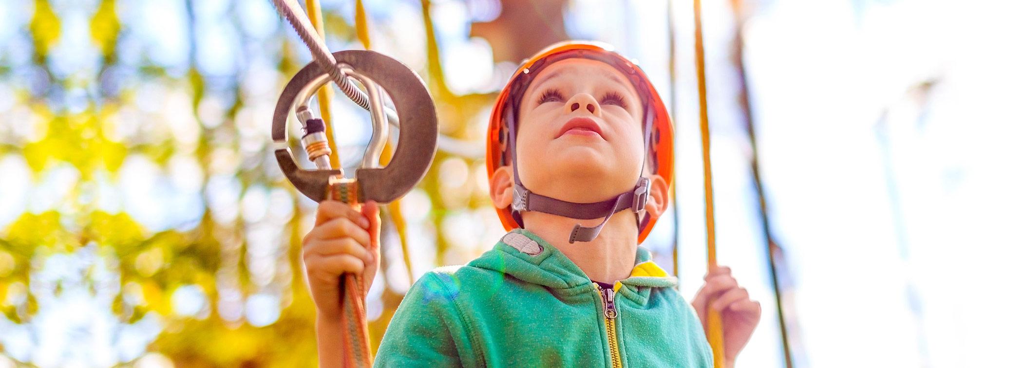Slider Loisirs jeunesse - Enfant avec casque