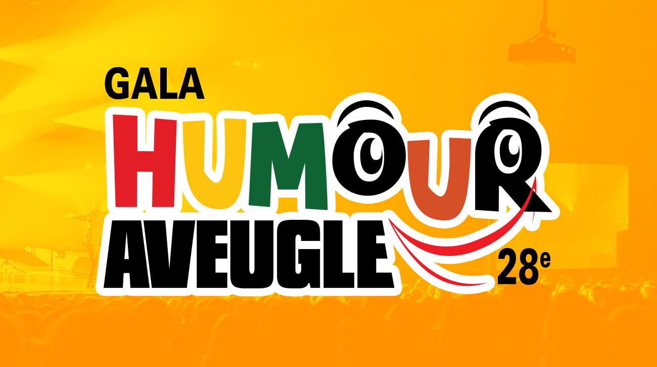 Événements 28e gala humour aveugle 2016 - Entête