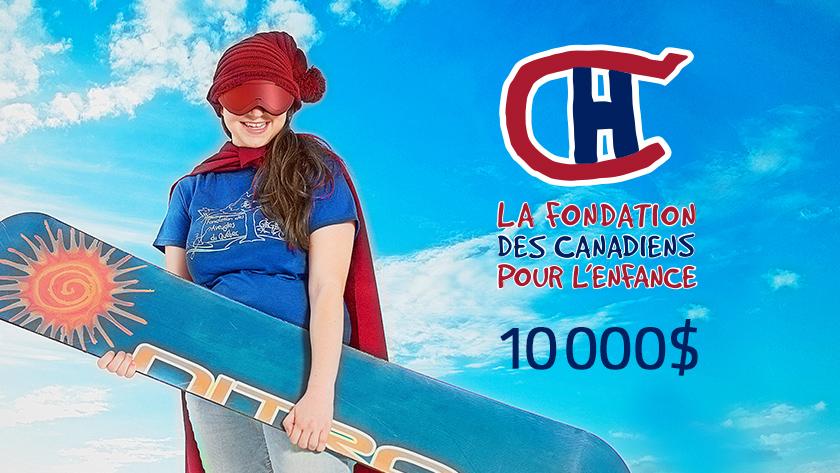 T'as rien vu - Campagne 1 - Don de la Fondation des Canadiens pour l'enfance