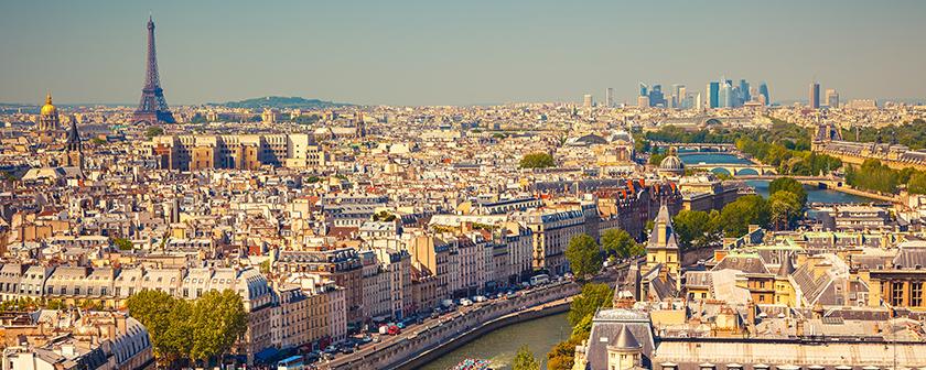 Voyage à Paris - sur la route de Louis Braille - Vue panoramique de Paris