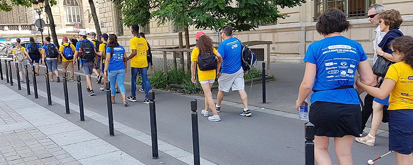 Expédition 360 - Voyage à Paris - Sur la route de Louis Braille - promenade