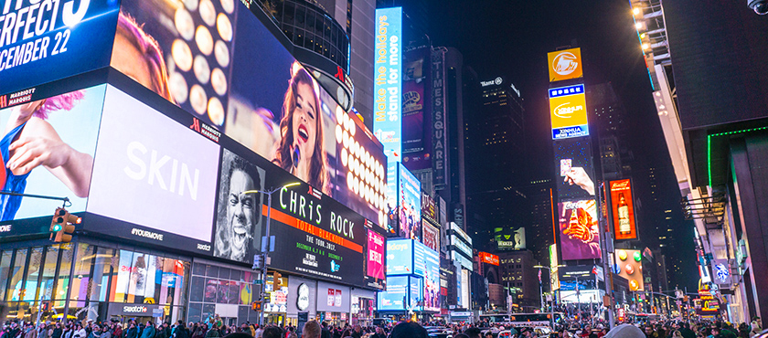 Voyage à New York 2017 - Time Square - Marquise Chris Rock
