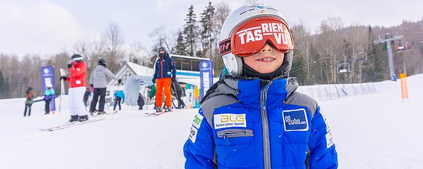 Ski La Réserve 2018 - jeune skieur T'as rien vu