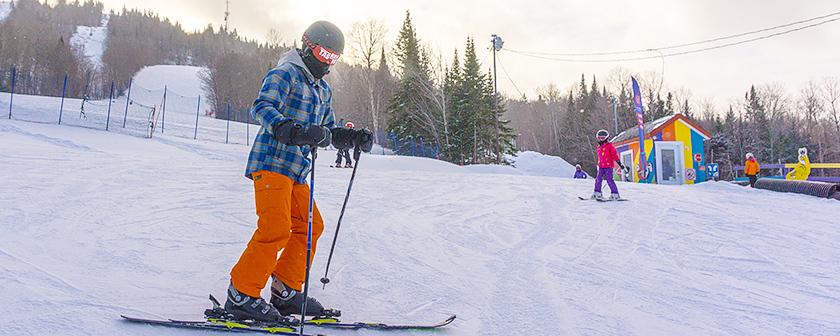 Ski La Réserve 2018 - Skieur T'as rien vu sur la pente