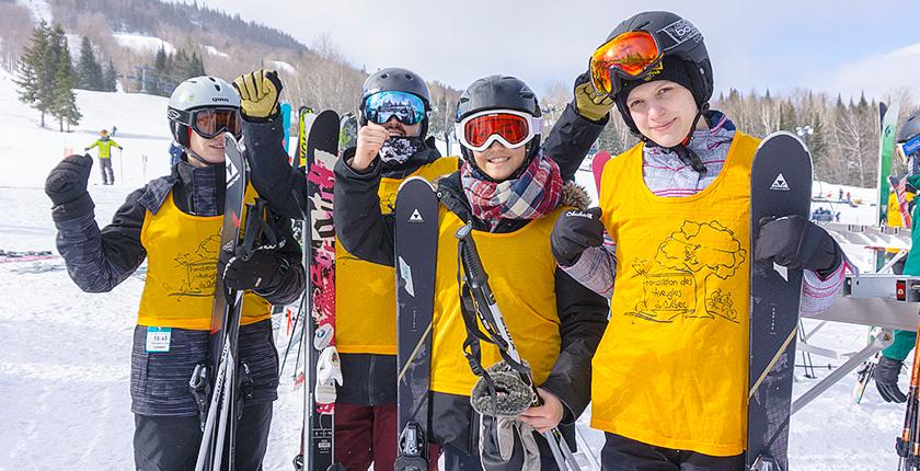 Ski La Réserve 2018 - Skieurs