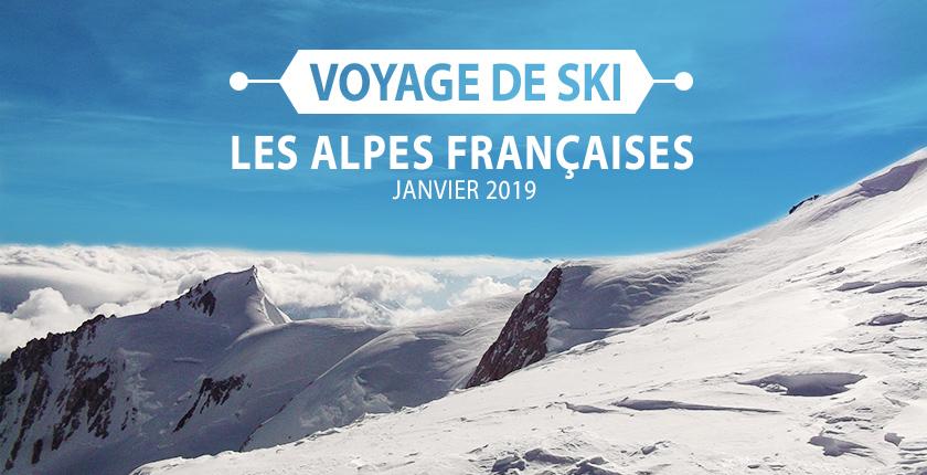 Voyage dans les Alpes françaises - Photo des Alpes - Entête