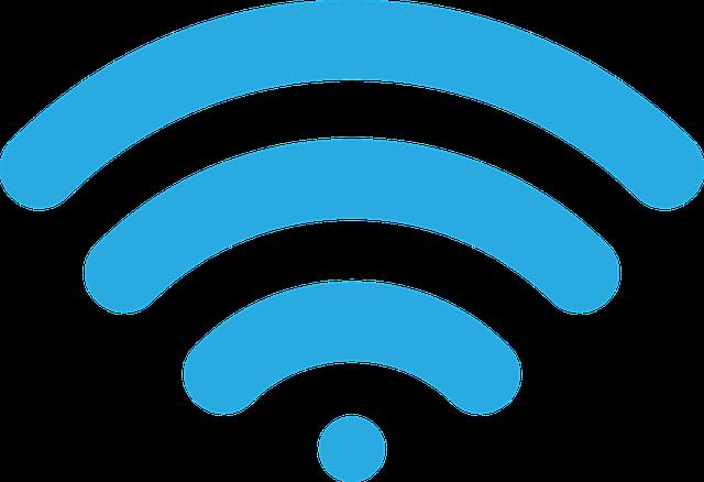 Icone du signal sans fil wi-fi