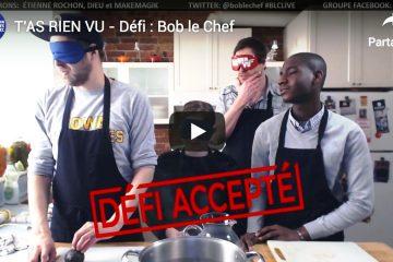 Cliché du vidéo de Défi Bob Le chef