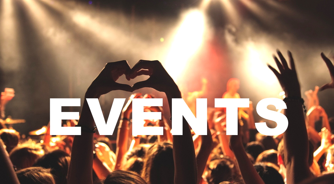 Events page Header