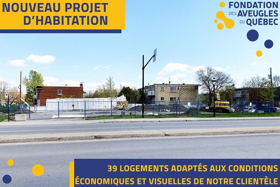 Nouveau projet d'habitation Montréal