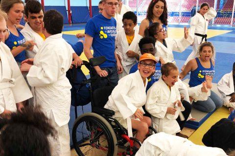 Judo - photo de préparation à l'activitée