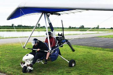 Camps de jour - deltaplane