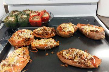 Photo de petites pizzas faites maison