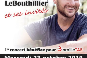 Afiiche invitation au concert Brailletab