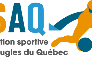 Logo de l'Association des sports pour aveugles du Québec
