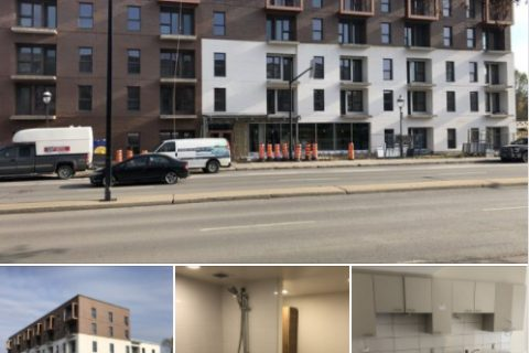 Description de l'image: Différentes photo de l'immeuble de la rue Sherbrooke