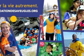 Bannière de la FAQ avec une fresque de photo des participants du service de loisirs en activité