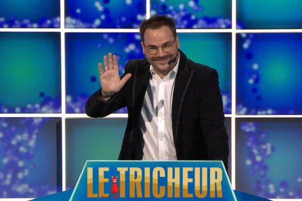 Photo de Sébastien Huberdeau participant au jeux télévisé Le Tricheur